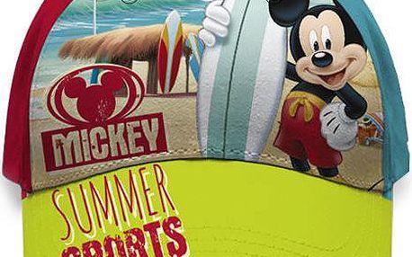 Chlapecká kšiltovka Mickey Mouse - na pláži