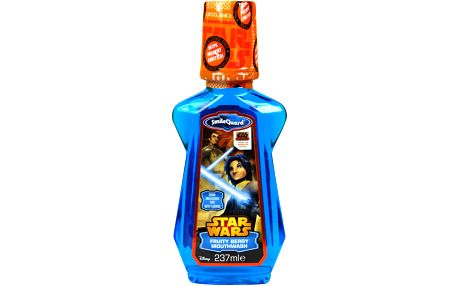 STAR WARS Ústní voda pro děti bez obsahu alkoholu s jahodovou příchutí