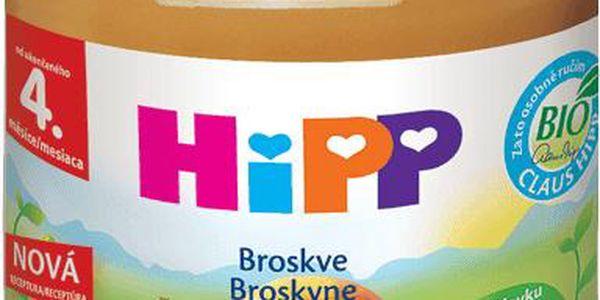 HiPP broskve 125g