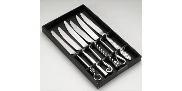 6dílná sada nožů Jean Dubost Forged