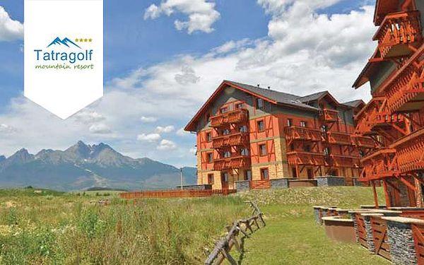 Tatragolf Mountain Resort**** - luxus v čisté vysokohorské přírodě