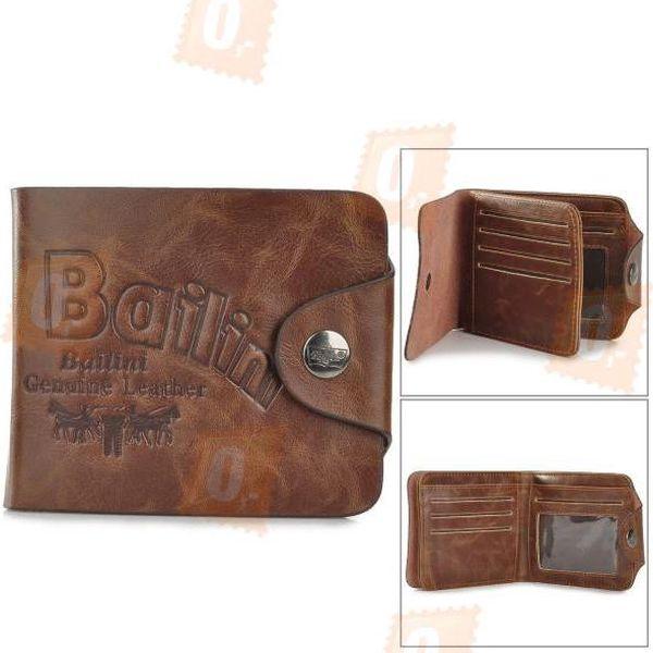 Pánská kožená peněženka - hnědá barva