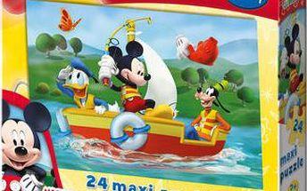 Puzzle Mickey Mouse ze silného kartonu