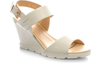 Lesklé sandály 2016W