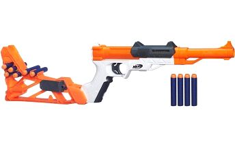 ELITE 6 V 1 dětská zbraň z kvalitního a odolného plastu pro dovádění na zahradě