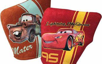 CARS Žinky na mytí, s oblíbenou postavou, 100 % polyester