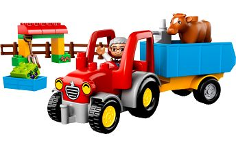 život na farmě s DUPLO Ville Traktorem