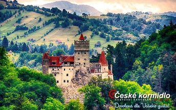 Po stopách hraběte Drákuly – 5denní zájezd do Rumunska s ubytováním
