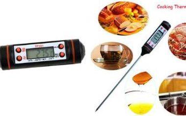 TIP pro vaši kuchyni: Digitální vpichovací teploměr pro vaření i pečení