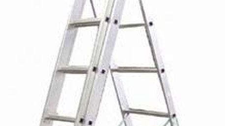ALVE Eurostyl žebřík hliníkový 3x11