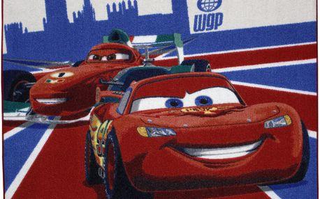 Koberec Cars 95x133 cm v pestrém barevném provedení