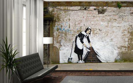 Tapeta Zameteno pod koberec 315x232 cm