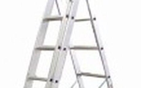 ALVE Eurostyl žebřík hliníkový 3x11 7,11m