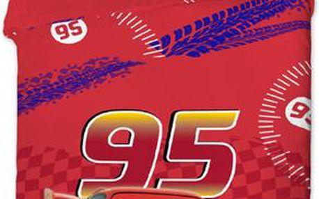 Povlečení Cars MC Queen 140x200 cm + 70x90 cm