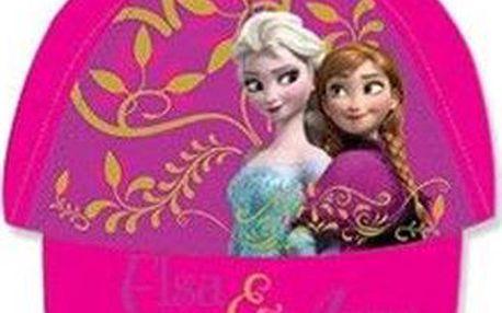Dívčí kšiltovka Frozen - tmavě růžová