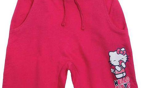 Dívčí kraťasy Hello Kitty - růžové