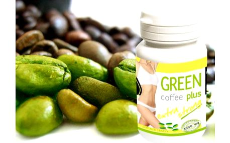 Green Coffee plus 60 tbl. - usnadněte si boj o štíhlou linii!