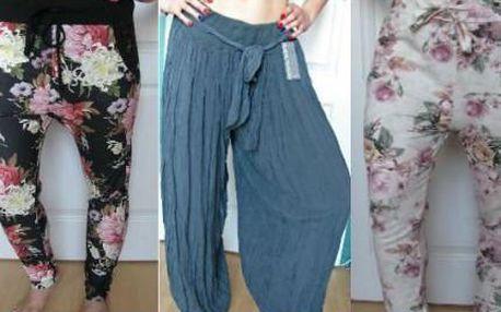 Pohodlné kalhoty v 7 italských designech od 399 Kč!