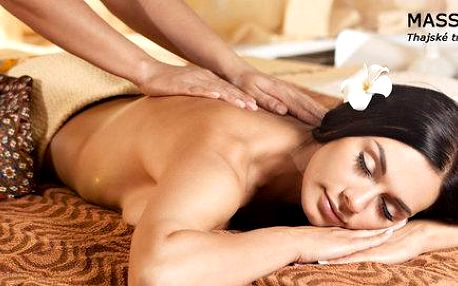 Blahodárná thajská masáž dle vlastního výběru
