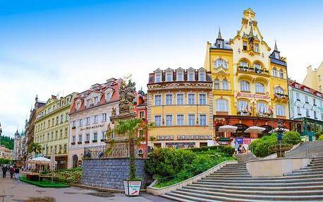 Karlovy Vary se snídaní a wellness