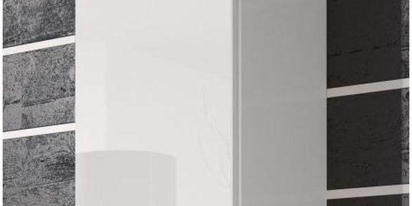 Bíla koupelnová skříňka Horace
