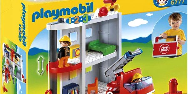 Playmobil 6777 Přenosná hasičská stanice