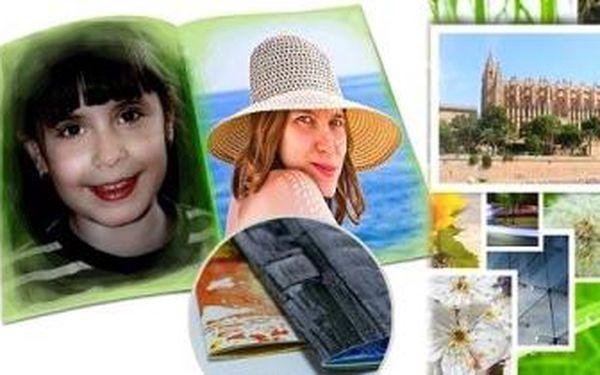 FOTOKNIHA - Fotosešit A4 (40 stran). Vysoce kvalitní tisk s profesionálním podáním barev.