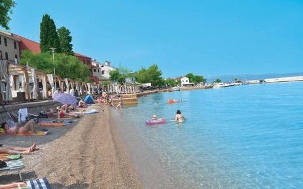 Chorvatsko, oblast Krk, doprava vlastní, polopenze na 8 dní