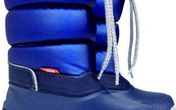 Dětské sněhule Lucky modré