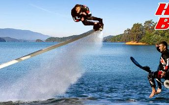 Úžasné lety na Hoverboardu pro 1 osobu (25 min.)