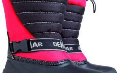 Dětské sněhule Jump udrží nohy vašich ratolestí v suchu a teple
