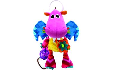 Dráček Zoubek - pestrá a barevná, veselá hračka