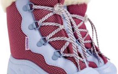 Dětské růžové sněhule Snow Mar