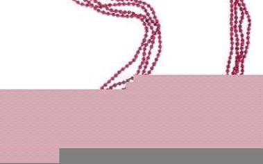 Náhrdelník Sarlini - fialová, ONE