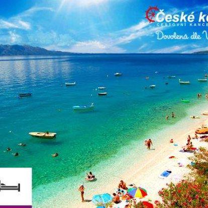 Týdenní dovolená u moře v Chorvatsku