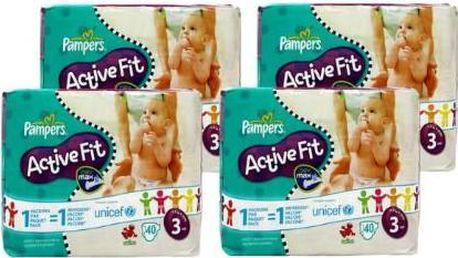 Dětské plenky Pampers ACTIVE FIT 3 MIDI nejlepší volba pro vaše miminko