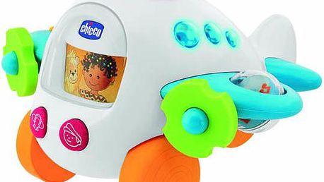 Letadlo na provázku hrající
