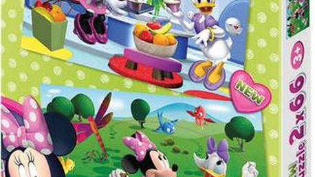 Puzzle Kamarádka Minnie 2x66