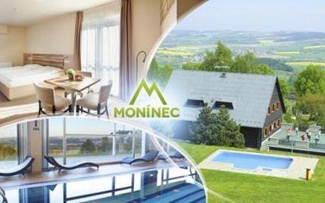 MONÍNEC! 3 až 6denní pobyt pro DVA v hotelu či apartmánu. SAUNA, bazén, jízda LANOVKOU, tenis - vše v ceně!