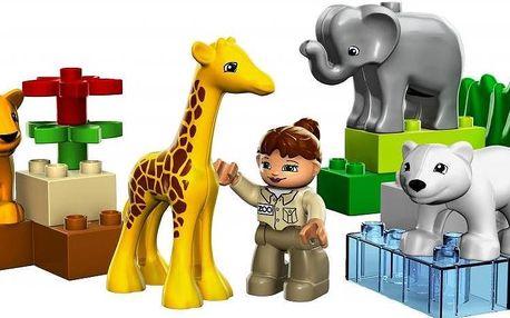 DUPLO Ville Baby zoo, zvířecí stavebnice