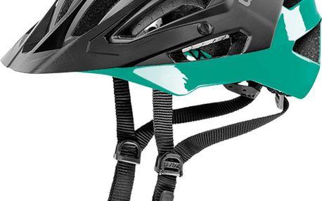 UVEX Quatro black mat-green 56-61 cm