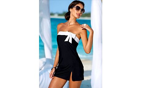 Černé plážové šaty s odepínacími ramínky!