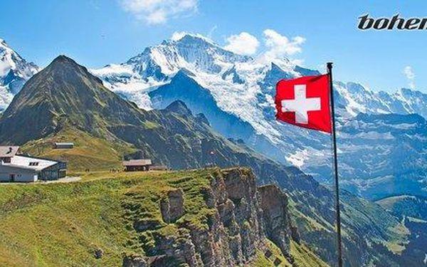 5 nocí v nejkrásnější oblasti Švýcarska