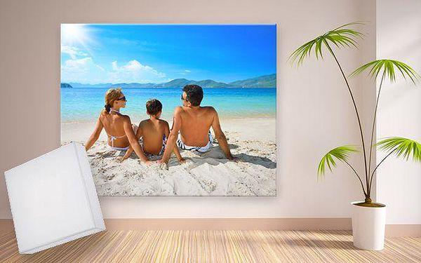 Fotoobraz z vašich fotografií na malířském plátně ve 3 různých rozměrech