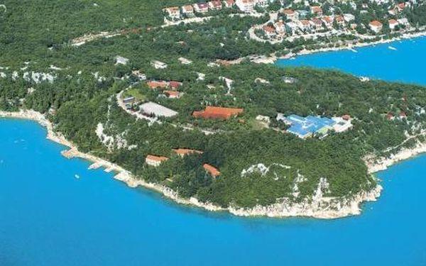 Chorvatsko, oblast Crikvenica, doprava vlastní, polopenze na 8 dní
