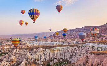 Turecko letecky se snídaní a výlety