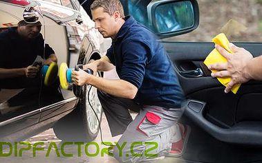 Kompletní čištění a renovace vozu