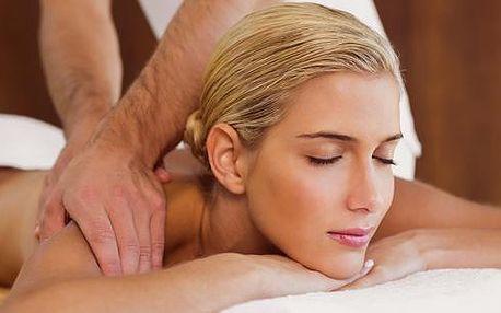 Masáž zad, krku a šíje + ošetření svalů a páteře