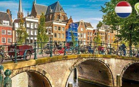 Víkendový výlet do Amsterdamu