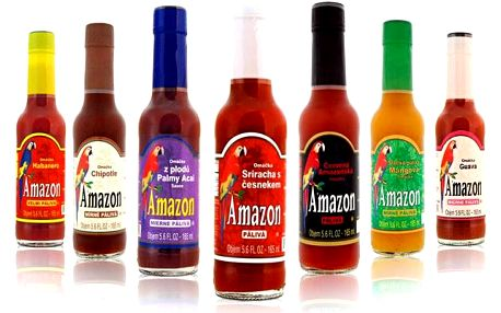 3 nebo 7 ks omáček Amazon – výběr ze 7 druhů